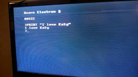 Video output OK