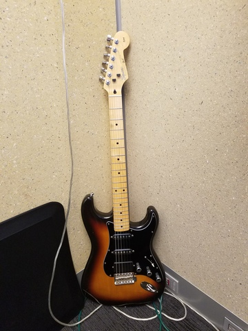 My Squier Silver Series Stratocaster